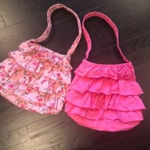 Children's Place cotton ruffle bags